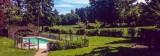 L'orée  des fagnes jardin piscine