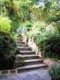 Chez Marie Jardin Escalier