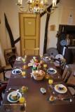 Moulin de Rahier petit déjeuner