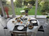 B&B Au pays des saveurs - Charneux - table pdj