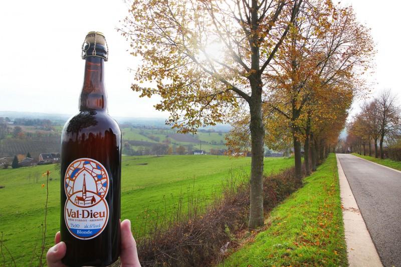 Wandel- en fietstochten - Val-Dieu Blonde - Bier