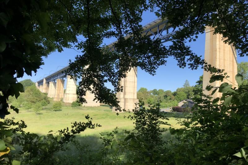 Balades en boucle - La balade des 3 Frontières - Viaduc de Moresnet