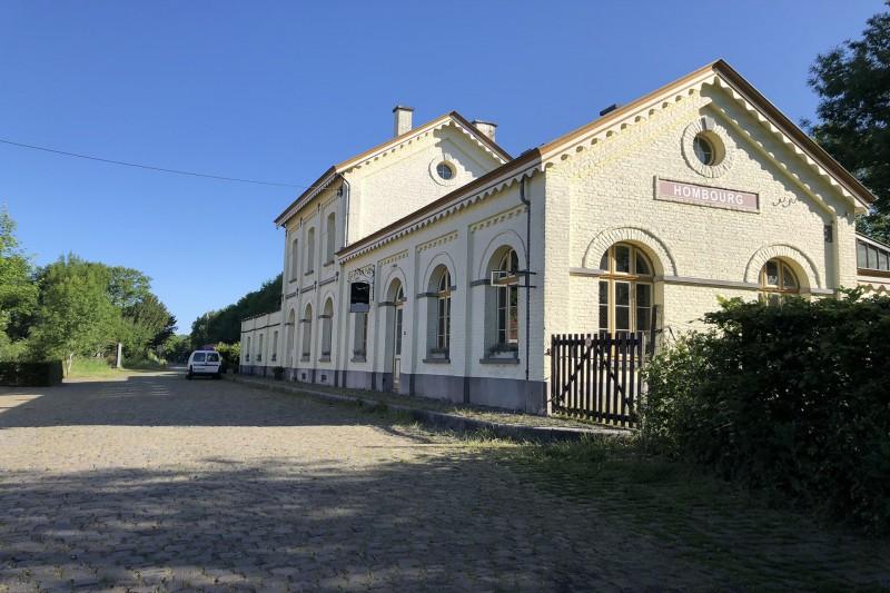 Wandel- en fietstochten - Streekroute - Voormalig station van Hombourg