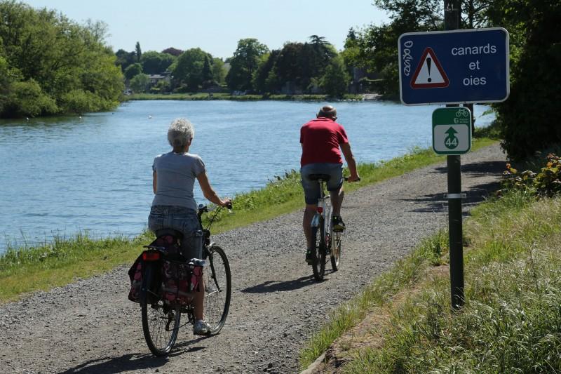 Wandel- en fietstochten - De Haspengouwse Beneden-Maas - Hermalle-sous-Argenteau - RAVeL