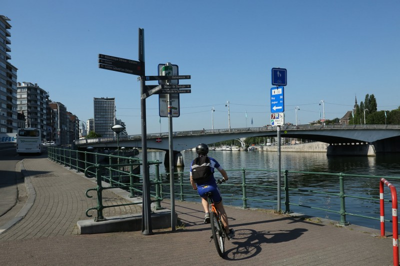 Routes in a straight line - City center discovery - Liège - RAVeL - Near the Aquarium-Museum