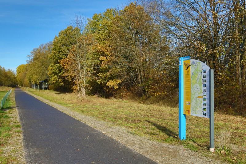 Fietsen, Treinen & Landschappen - De Hoge Venen - Vennbahn - Weg