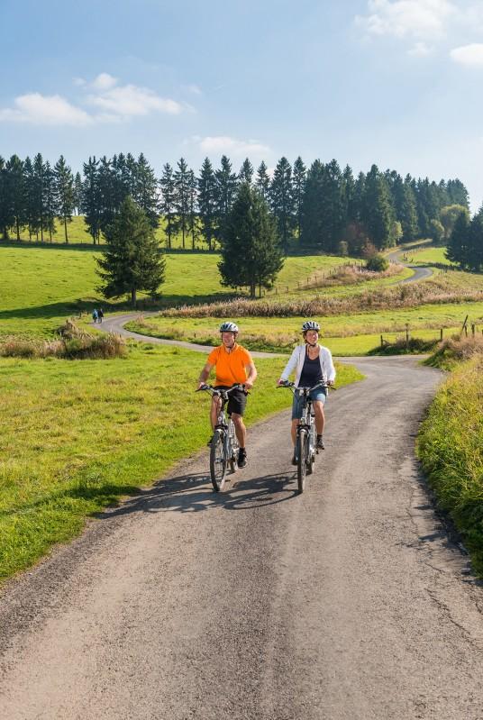 Topoguide vélo - Photo des Cantons Est (utilisée pour couverture guide)