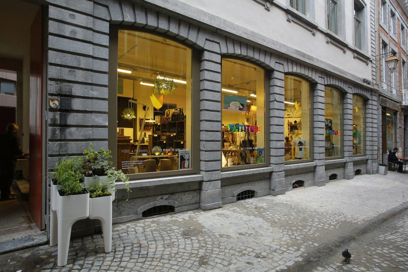 Wattitude - Boutique design - Façade - Liège