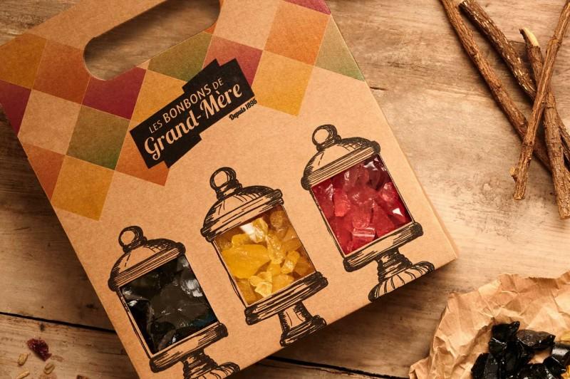 Les bonbons de Grands-Mères -coffret cadeau