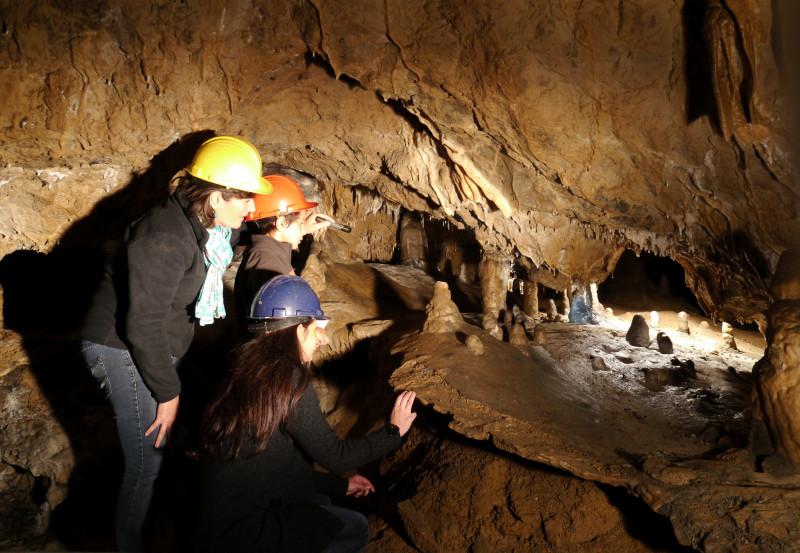 Grotte de l'Abime Les découvertes de Comblain
