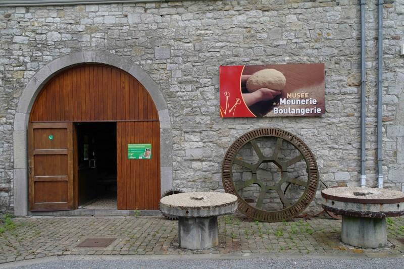 Musée de la Meunerie et de la Boulangerie de Harzé - Entrée