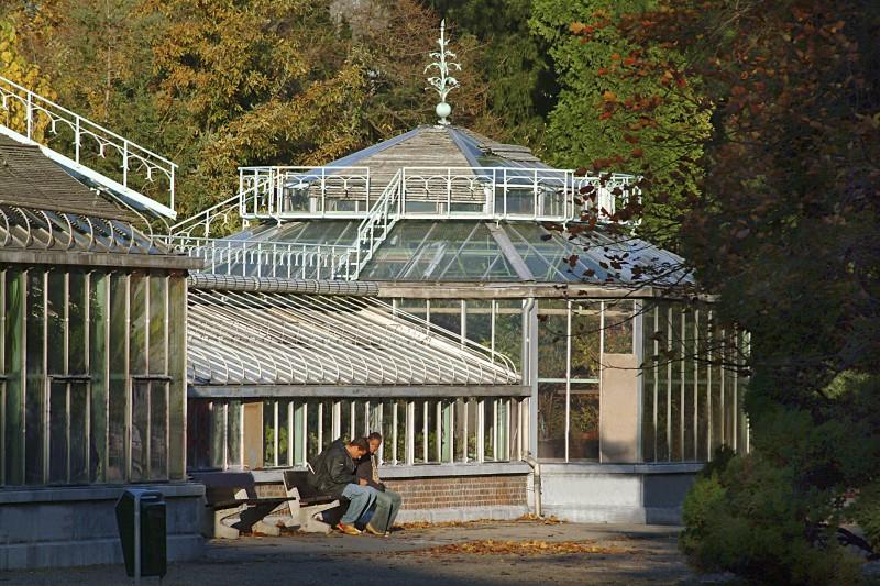 Serre jardin botanique Liège  1