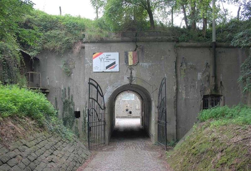 Fort de Barchon - entrée