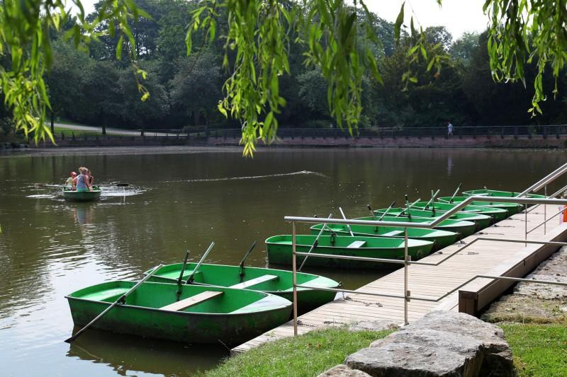Domaine Provincial de Wégimont - Wégimont - Etang barques