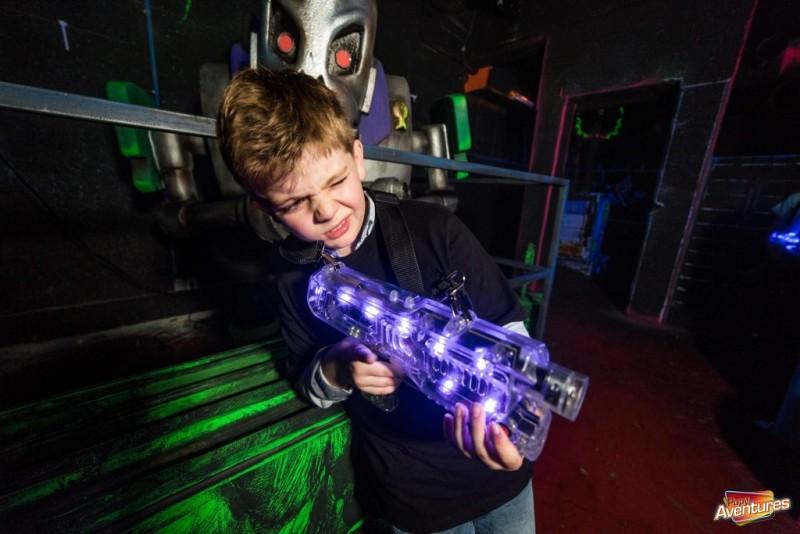 Popy-laser