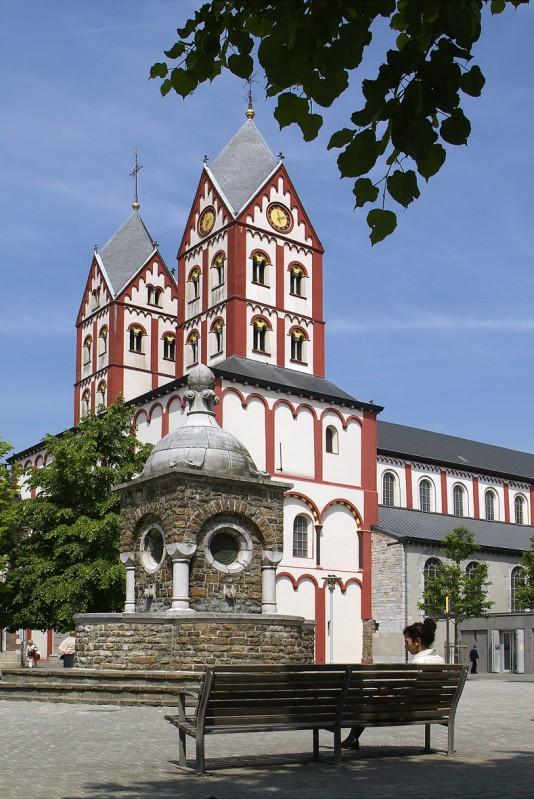 Collégiale Saint-Barthélemy - Liège - Façade