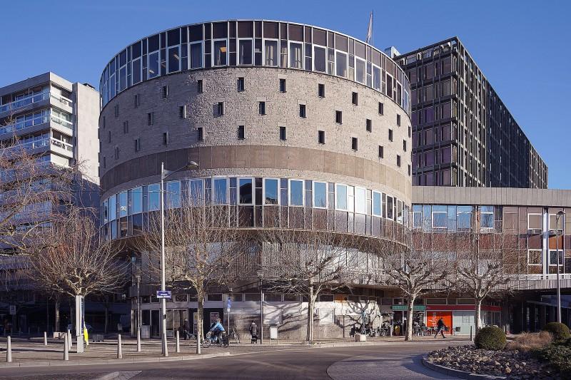 Chiroux centre culturel Liège - Vue extérieure