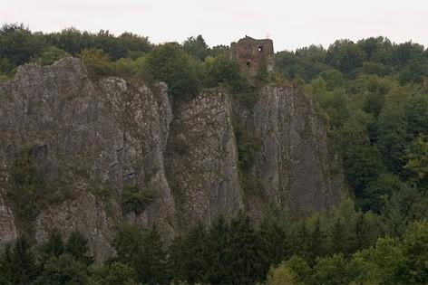 Ruines du Château d'Amblève
