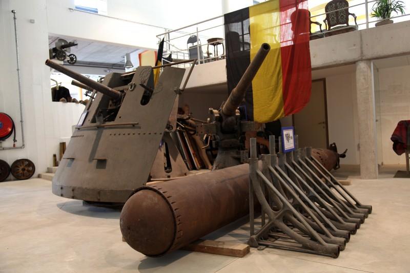 Musée du Fort de Boncelles - Boncelles - artillerie