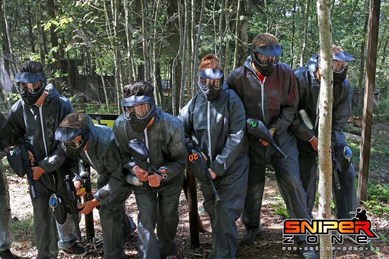 Paintball sniper Zone - Malmedy - paintball