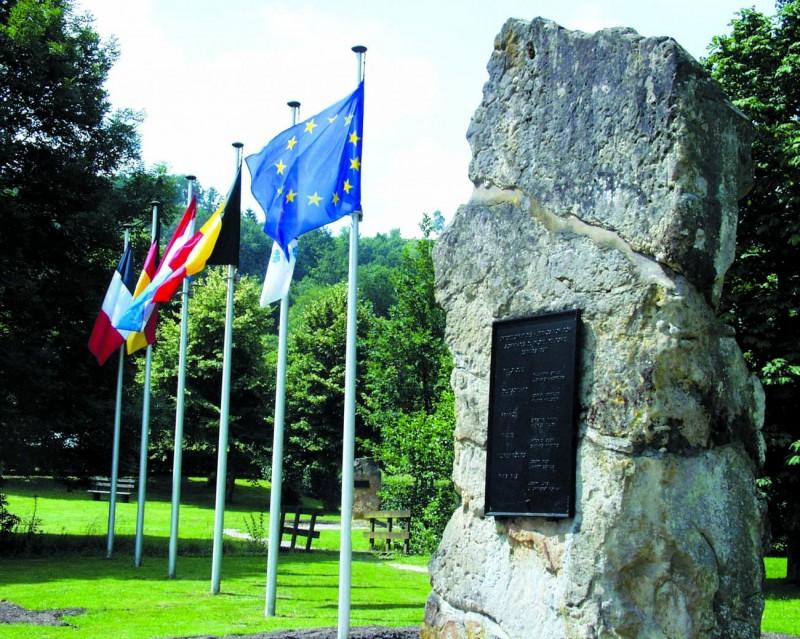 Ouren - Site des Trois Frontières - Monument de l'Europe