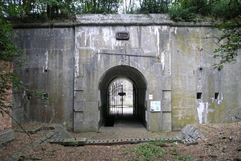 Fort Hollogne - Grâce-Hollogne - Poterne d'entrée