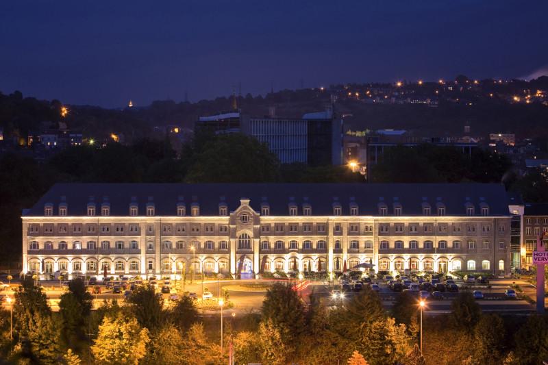 Hôtel-Restaurant Van Der Valk - Verviers - Vue de nuit