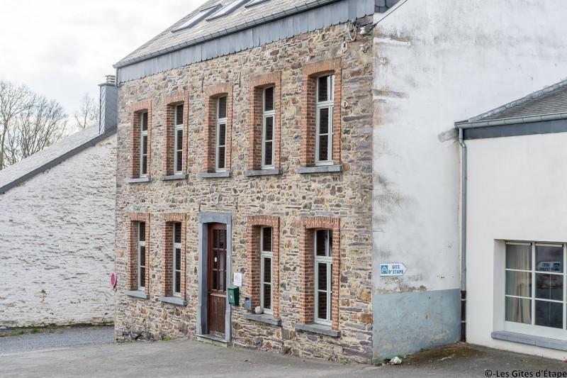 Gîte d'Étape d'Arbrefontaine-Ecole – Lierneux – Façade