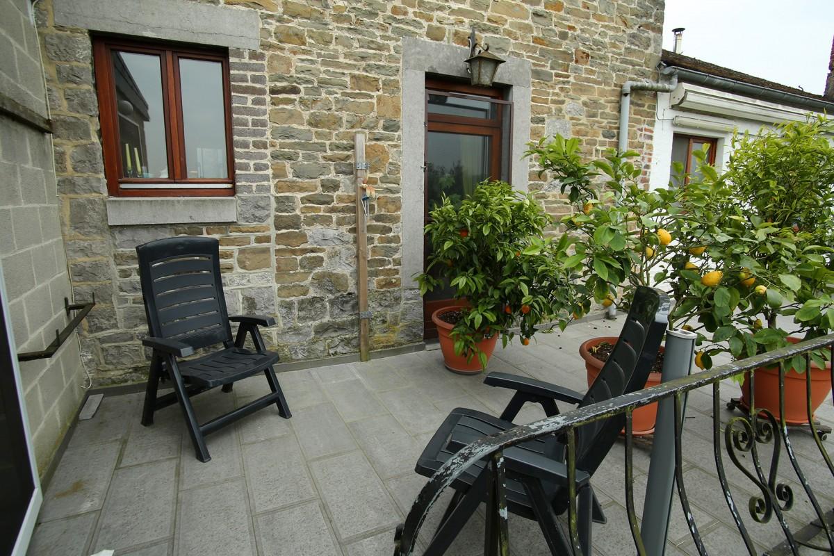 Gîte du Bac - Comblain - Terrasse