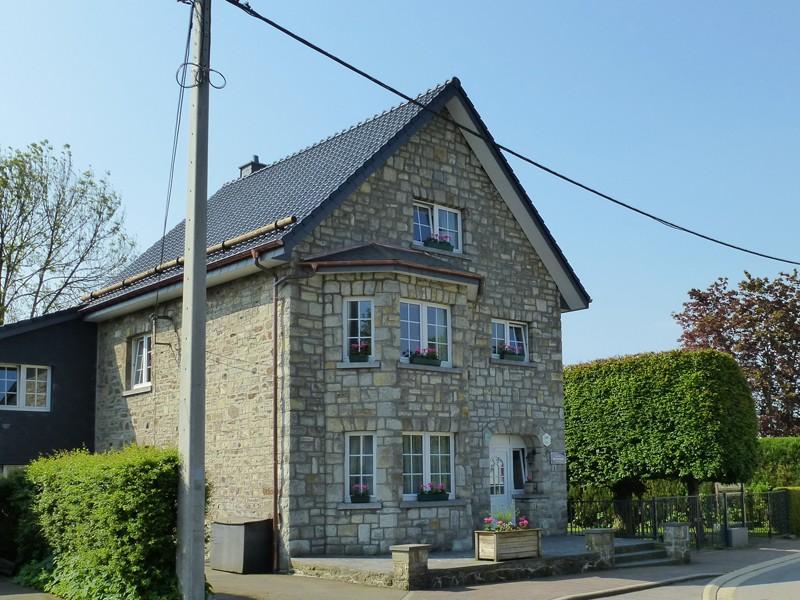 La Maison du Lac - Robertville - Façade