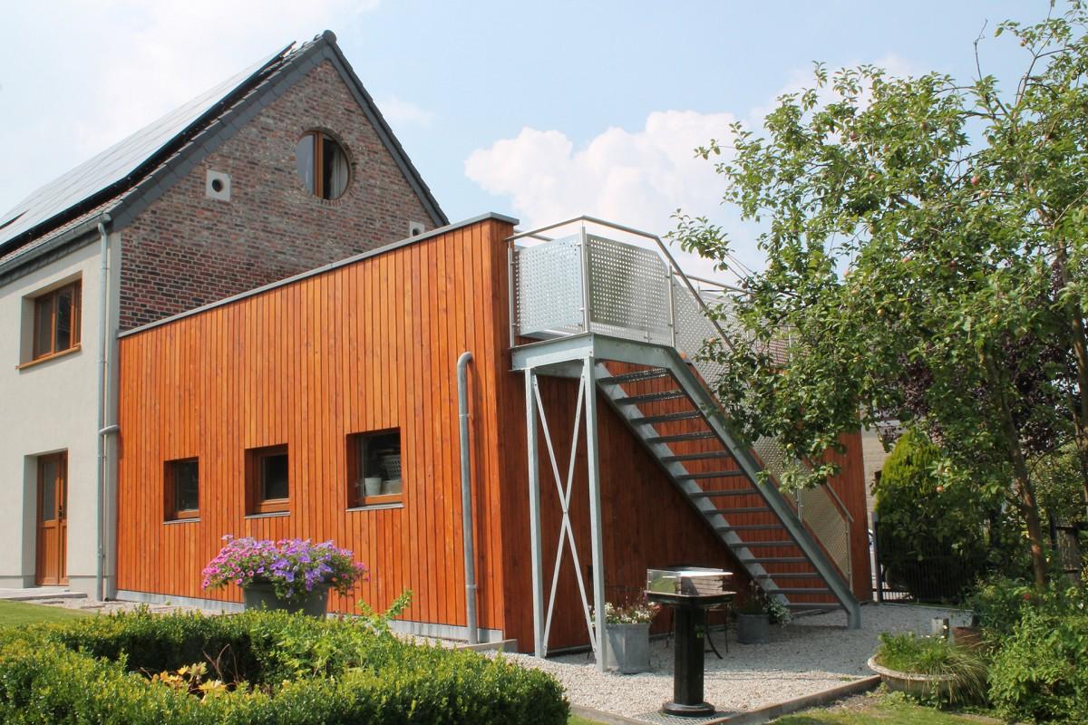 Le Backes - Hombourg - vue extérieure