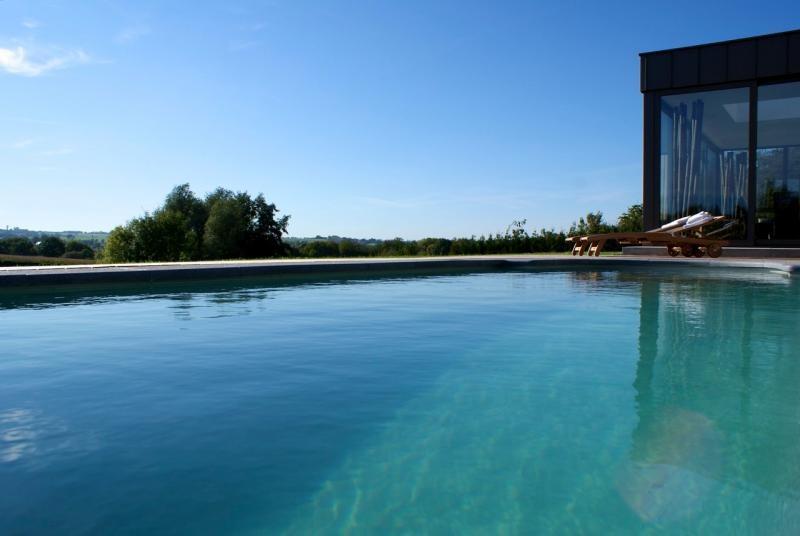Ferme de Froidthier - piscine