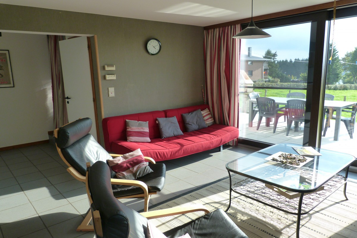 Au Bord du Lac - Butgenbach - Salon + Terrasse
