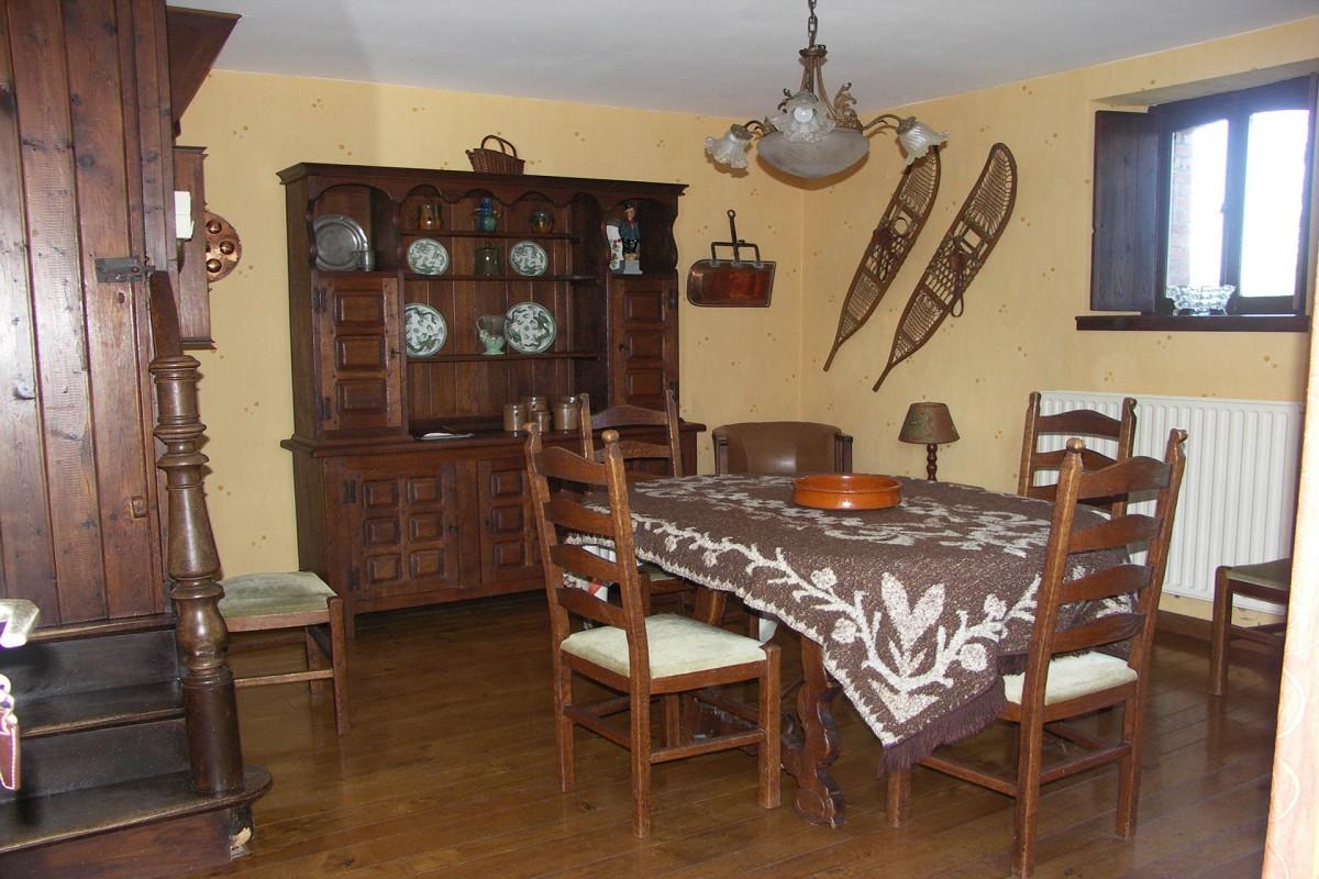 Gîte rural - Baneux - salle à manger