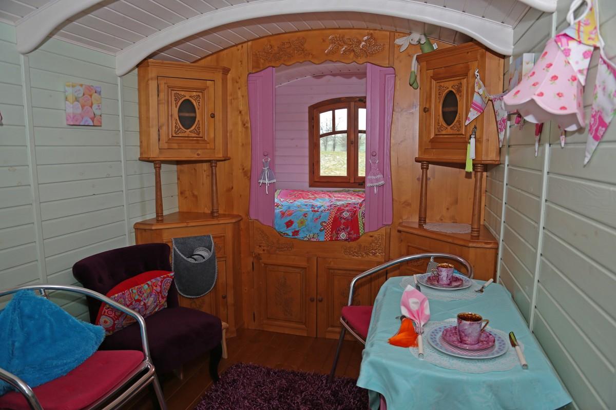 Gipsy Roulotte - intérieur