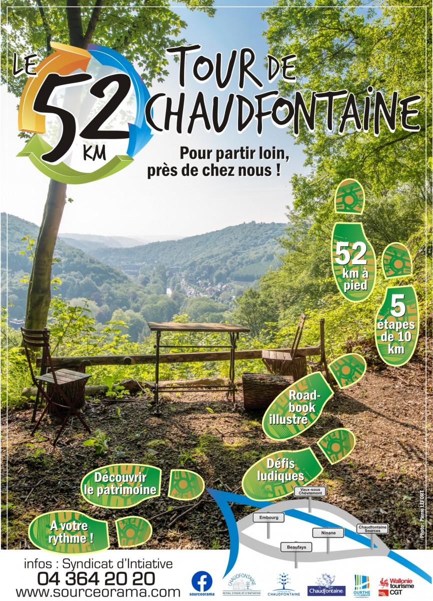 Le 52Km, Le tour de Chaudfontaine pour partir loin, près de chez nous !