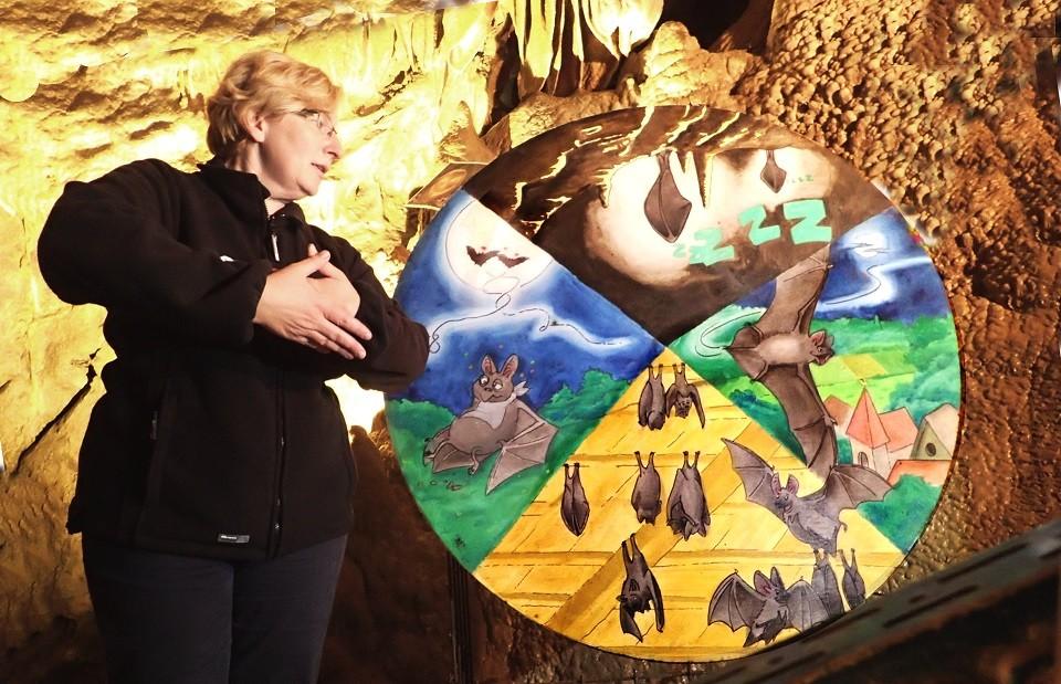 Grotte de Comblain - animation :