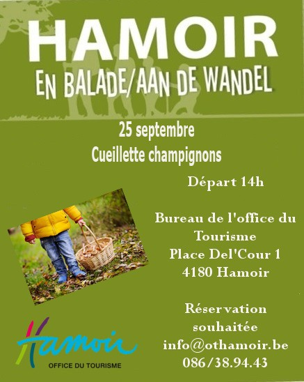 Balade Thématique - Cueillette Champignons