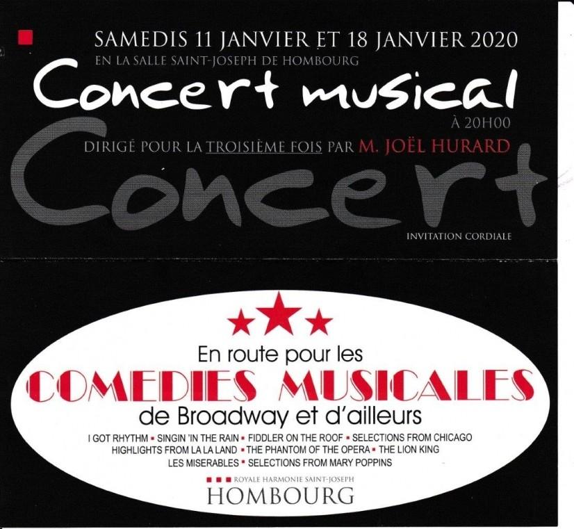 Concert annuel de la Royale Harmonie Saint-Joseph 2