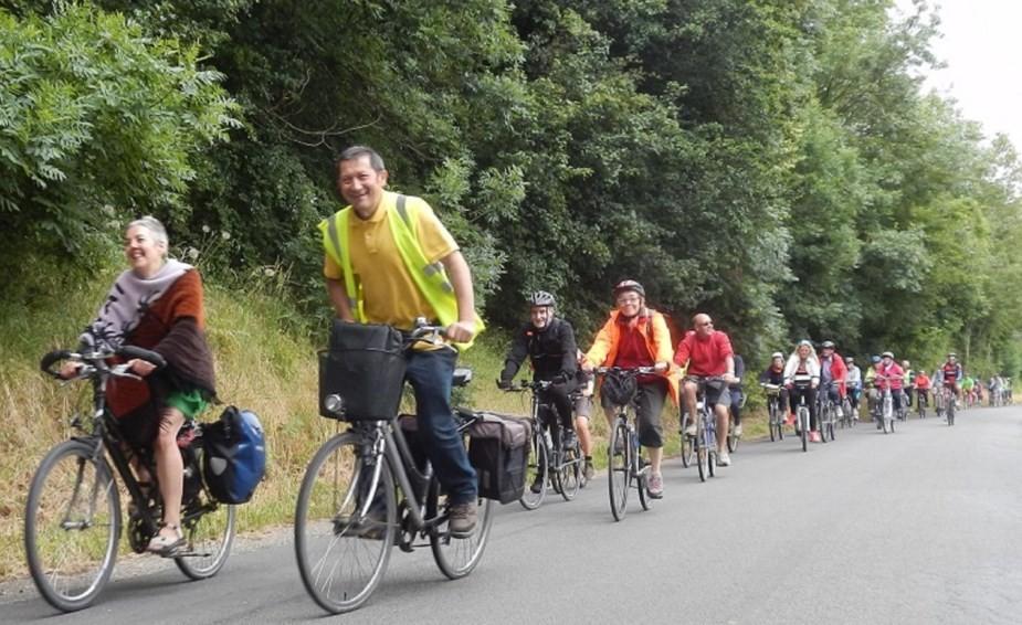 La journée en été à vélo gracq