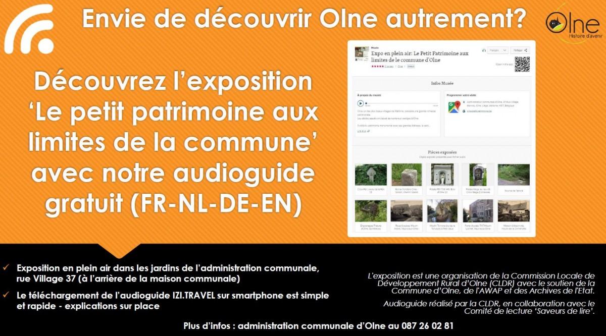 Exposition-Le petit patrimoine aux limites de la commune d'Olne