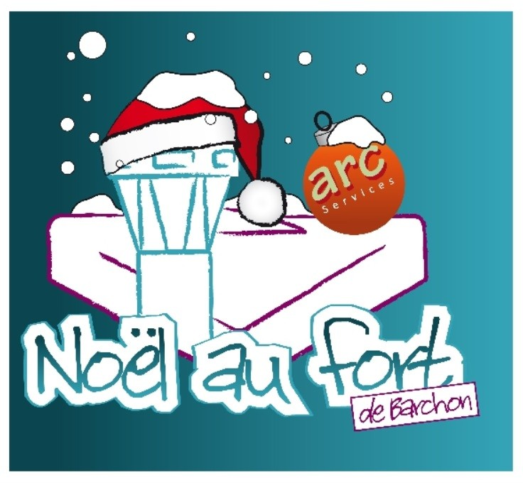 Marché de Noël - Barchon - Affiche