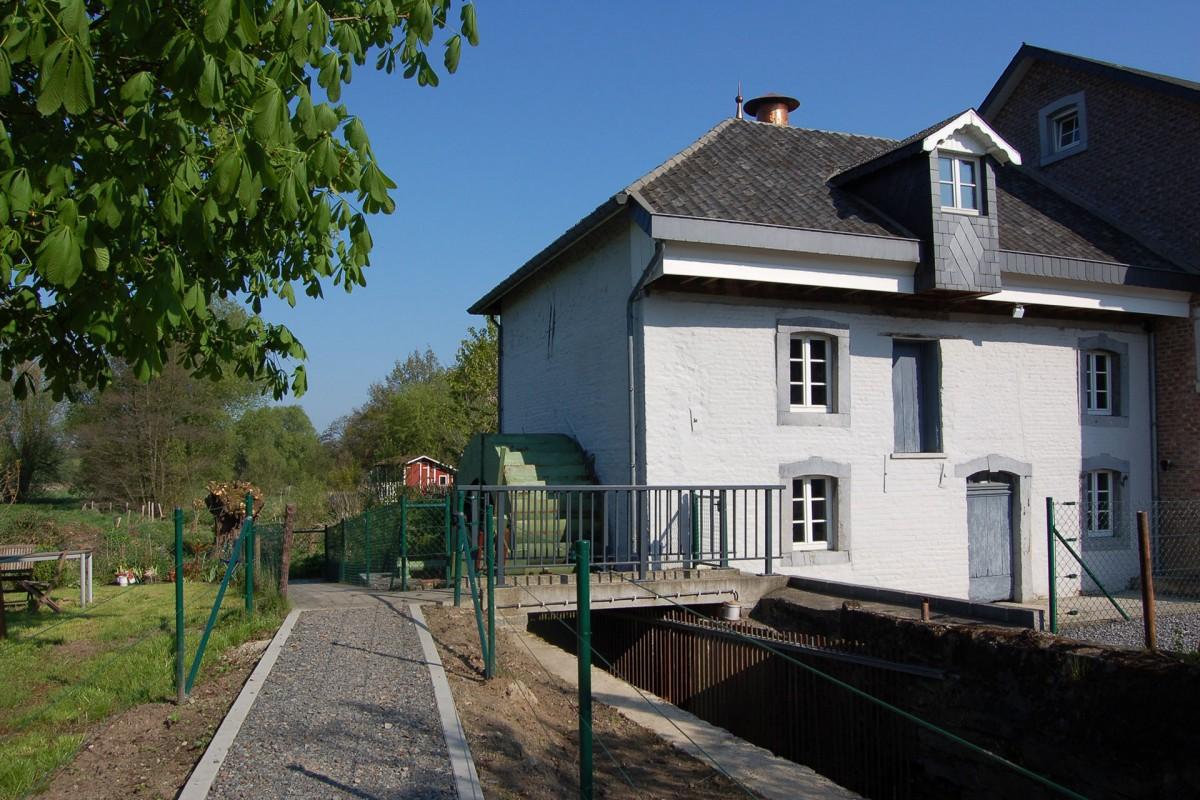 Plombières - Moulin - Au dela de l eau