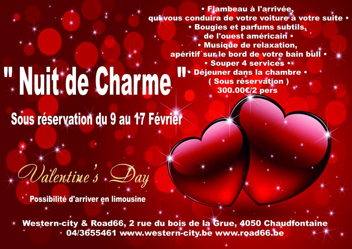 Nuit de charme St Valentin