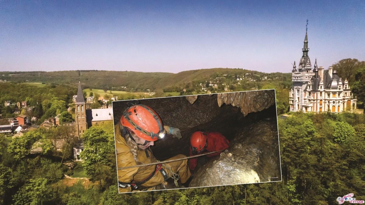 Spéléologie à la Grotte Sainte-Anne à Tilff