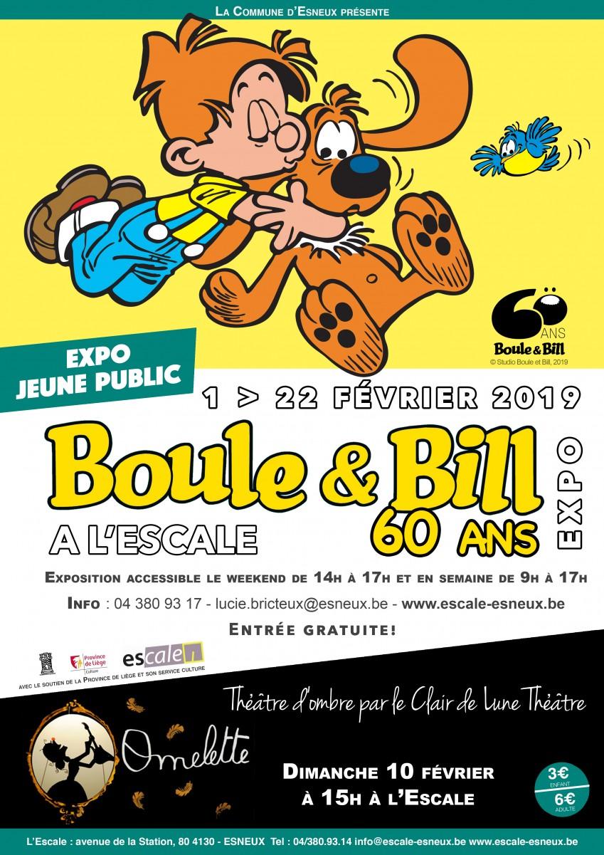 Esneux - Expo Boule et Bill - Affiche