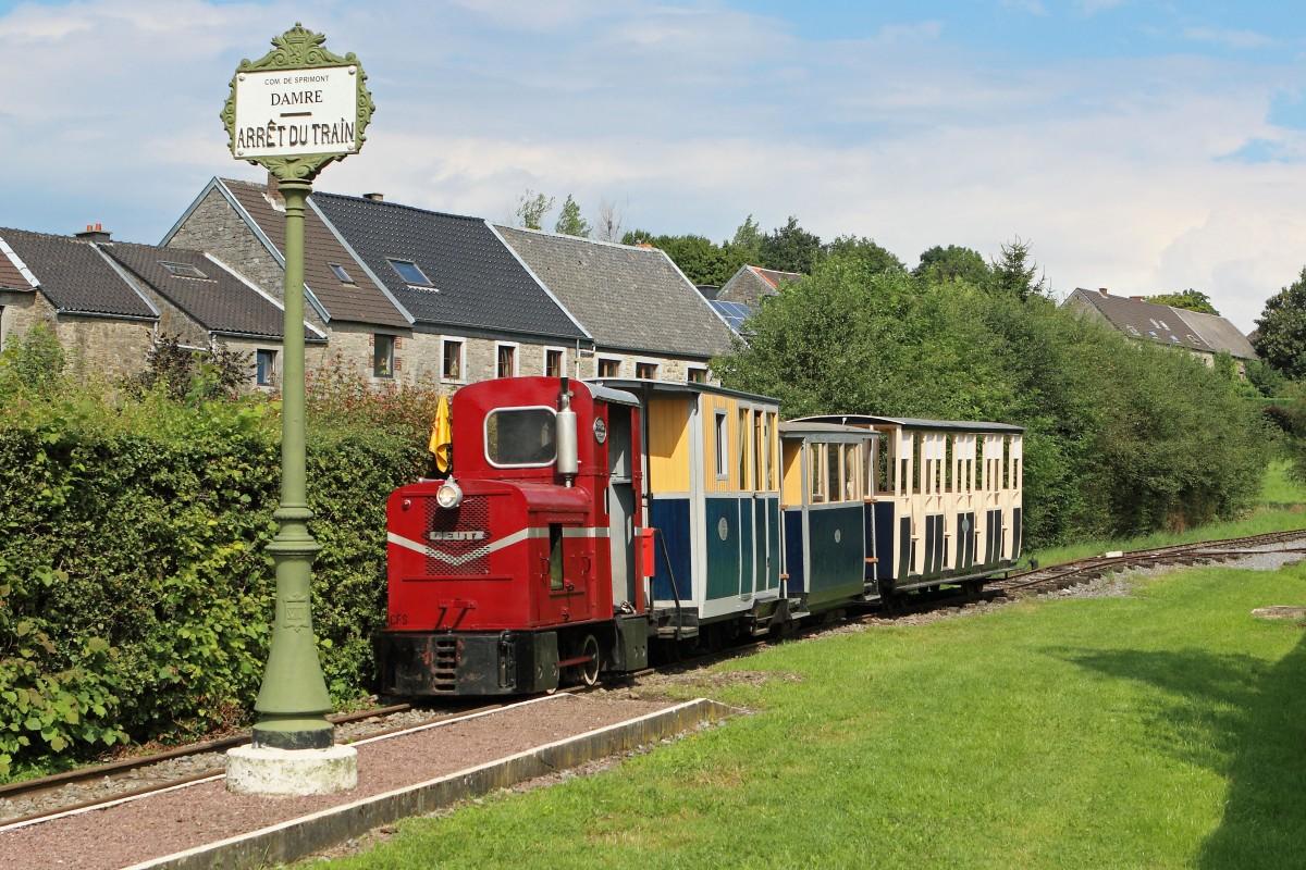 Vallée Sèche - Sprimont - Train