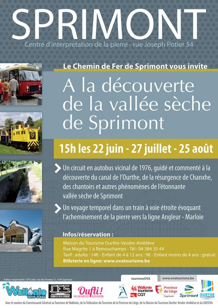 Vallée Sèche - Sprimont - Affiche