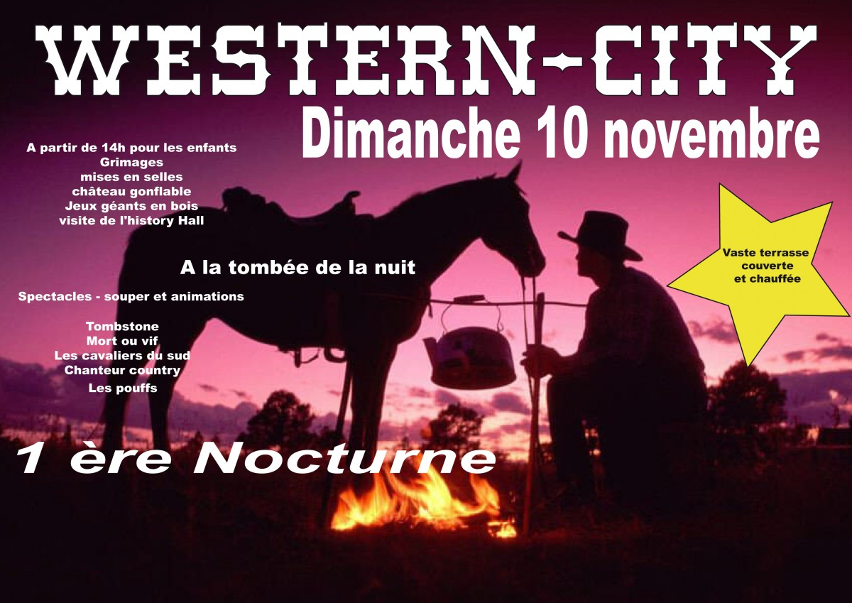 Spectacle western en nocturne
