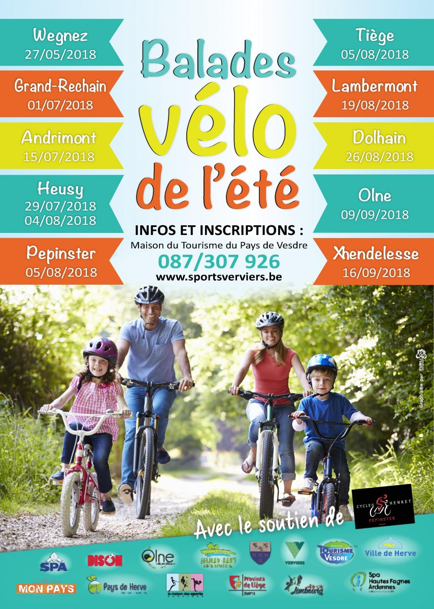 Balades vélo de l'été: Olne
